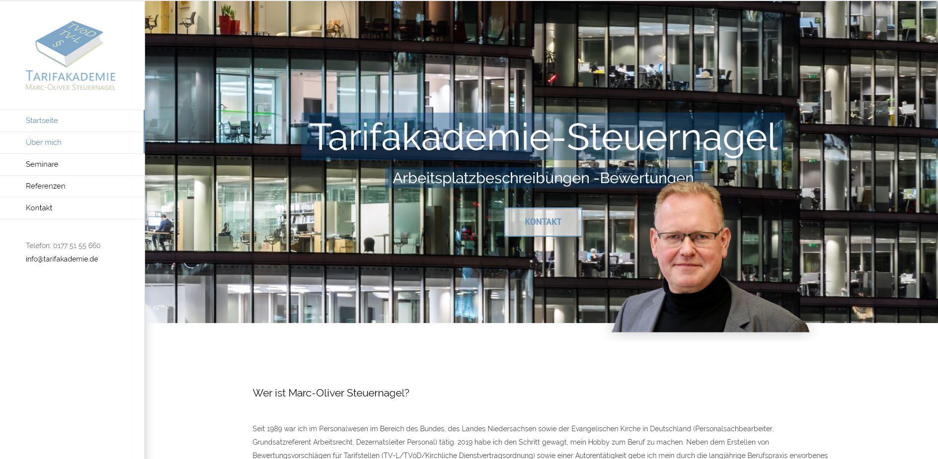 Webdesign Tarifakademie